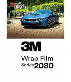3M 2080 Satin Métallisé