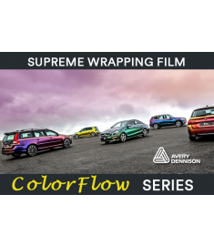 Avery Supreme Wrapping Film Couleur Flow Gloss