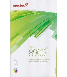 MacTac 8900 Couleur Blanc-Noir Brillant 123cm