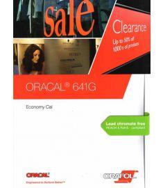 Oracal 641 BRILLANT Couleurs + Noir 126cm
