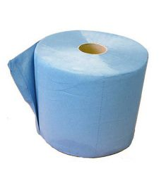 Papier De Nettoyage 3-Couches Bleu
