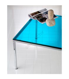 Reflectiv 63545 Bleu Turquoise Largeur 152cm