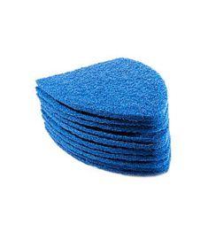 Scrub Pads Bleu lot de 10 pièces