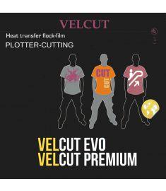 Sef-Velcut Flock Couleur Largeur 50cm