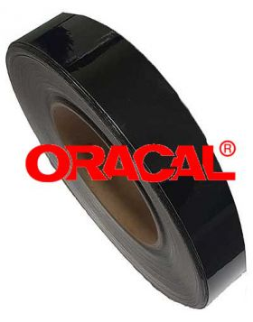 De-Chroming Tape Oracal Noir Brillant largeur 5cm