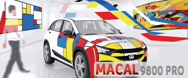 Mactac MACal 9800 Pro