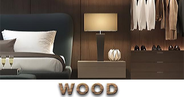 Revêtement pour meubles avec motifs en bois