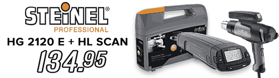 Steinel HG 2120E Kit Spécial Covering